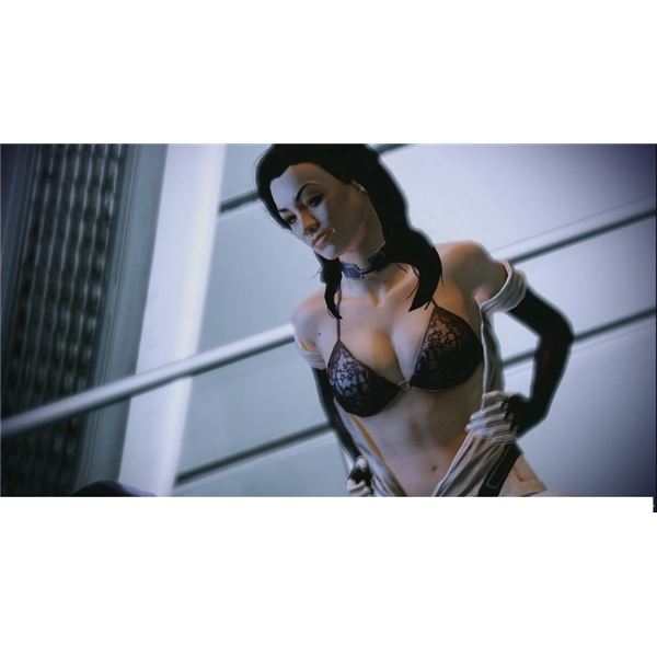 Mass Effect 2 Nudity
