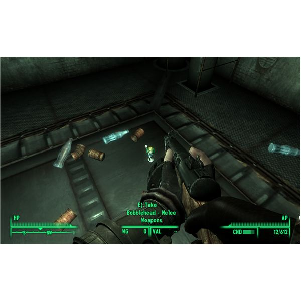 Finding the Bobbleheads for Melee Weapons, Repair, and Science in Fallout 3