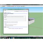 Models can be uploaded directly from within Google SketchUp itself.