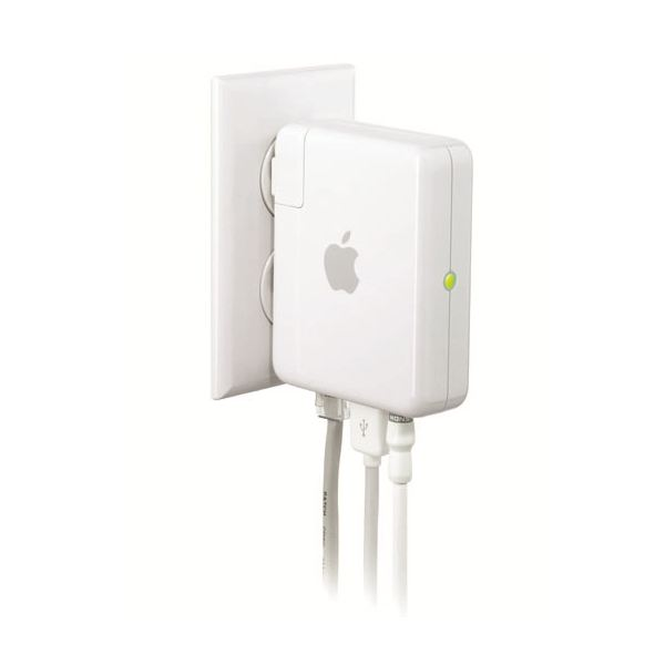 Airport Express (image courtesy of Apple)