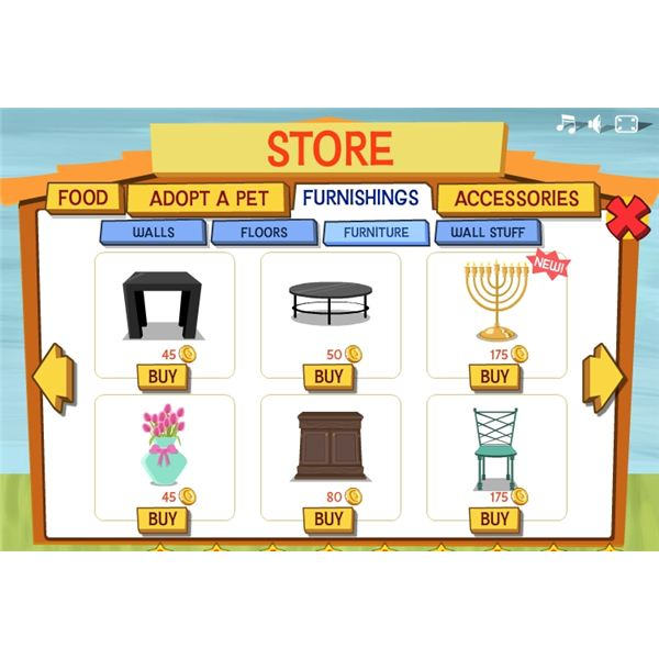 Virtual Pets - Happy Pets Store