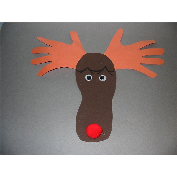 Four Reindeer Crafts for Preschool: Celebrating Rudolph the Red Nosed Reindeer