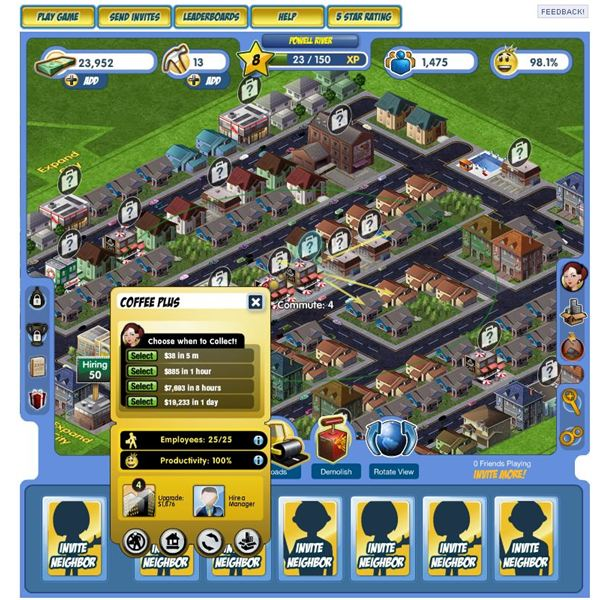 CityZen Game Guide - Build your own city on Facebook