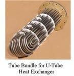 U tube bundle