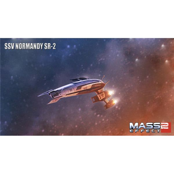 Mass Effect 2 Normandy Upgrades