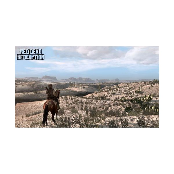 Ride through the countryside in the Red Dead Redemption mission Exodus in America