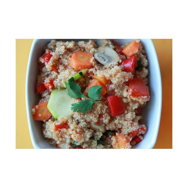 Veggies and Quinoa