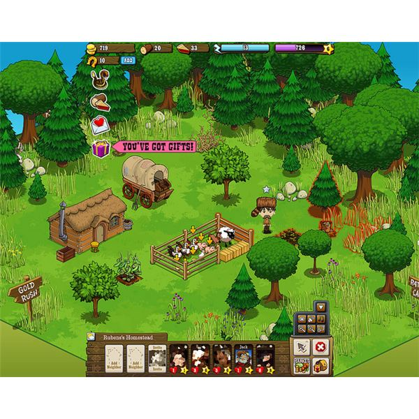 FarmVille Game Application