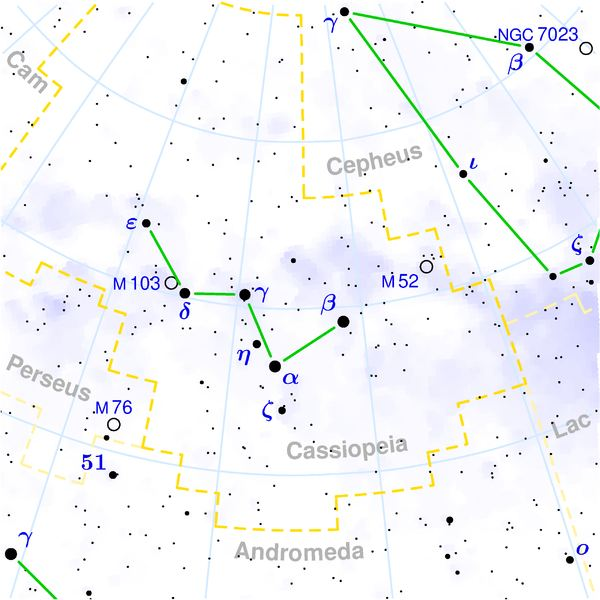 Cassiopeia Constellation Facts, Mythology, and Stars
