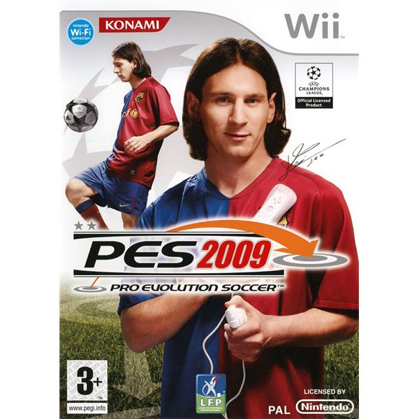 The New Pro-Evolution Soccer 2009 - Wii Version