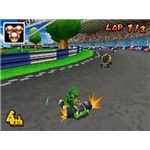 Mario Kart DS provides some of the most enthralling gameplay of any entry in the series.