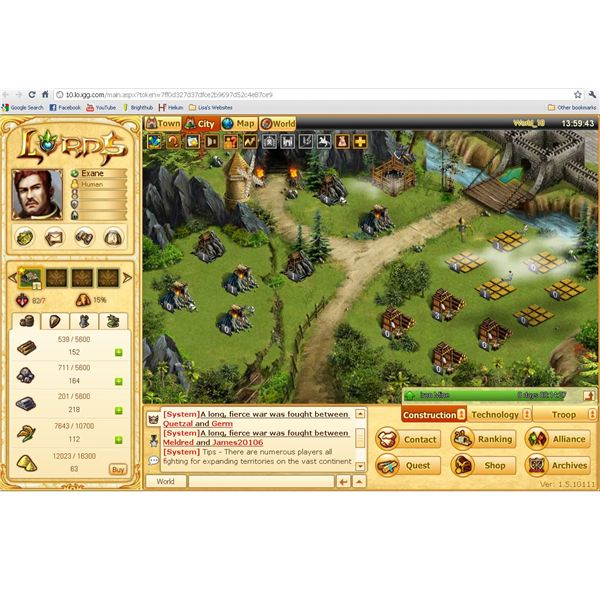 Browser Based War Games: Lords Online Review