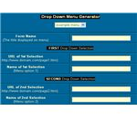 Online Tools for Creating Drop Down Menus-image