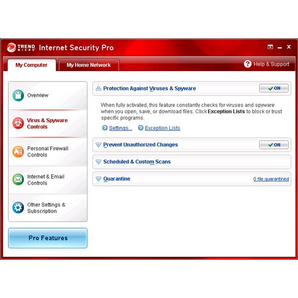 Trend Micro Internet Security Pro 2010 Review