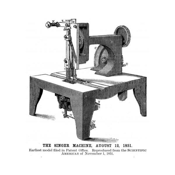 Singer Sewing Machine 1851 img assist custom