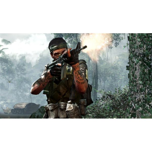 Call of Duty Black Ops Preview - Soldier in the Jungle
