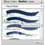 Select Type of Brush