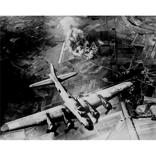 Bombings by Allied Air Forces