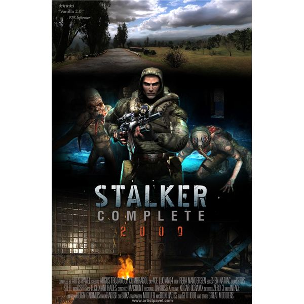 Behold! Stalker Complete 2009 is the best Stalker mod out today!