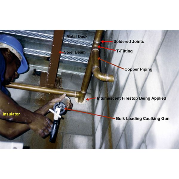 Intumescent Spray-on Fireproofing - Indications for Use and Applications