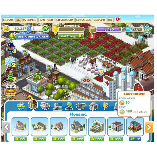 CityVille Housing Guide - Build up your CityVille city.