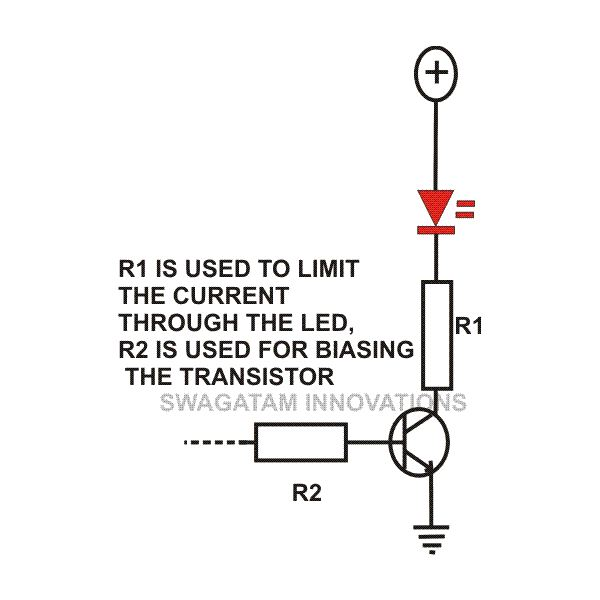 How To Make Simple Inverter Circuit At furthermore Phototransistor Working Principle furthermore Transistor Cut Off Saturation Active Regions besides 66726 Functions Of Resistors In Electronic Circuits Explained also Transistor Circuit Design. on transistor biasing