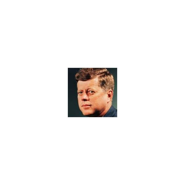 John F Kennedy from Wikimedia Commons