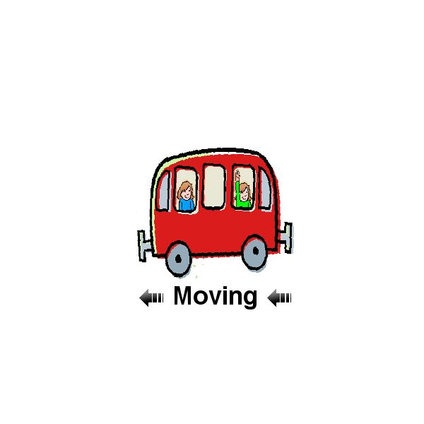 Bus Moving Left