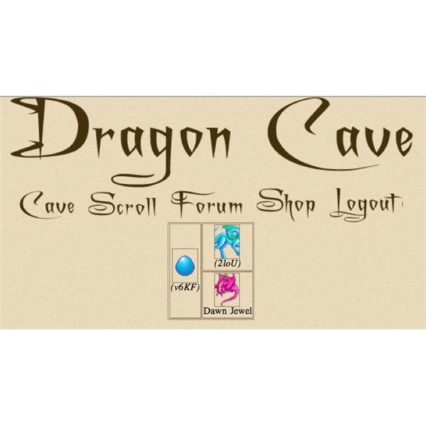A Dragcave lineage page