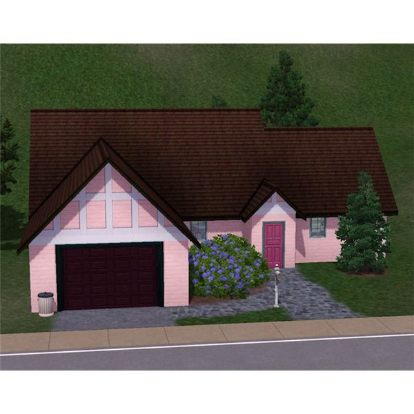 The Sims 3 residential lot