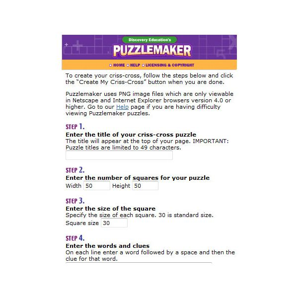 Learn How To Make Your Own Printable Crossword Puzzles Free Online