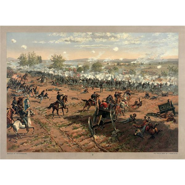 Lesson Plan for a Middle School History Class on the American Civil War Battle of Gettysburg