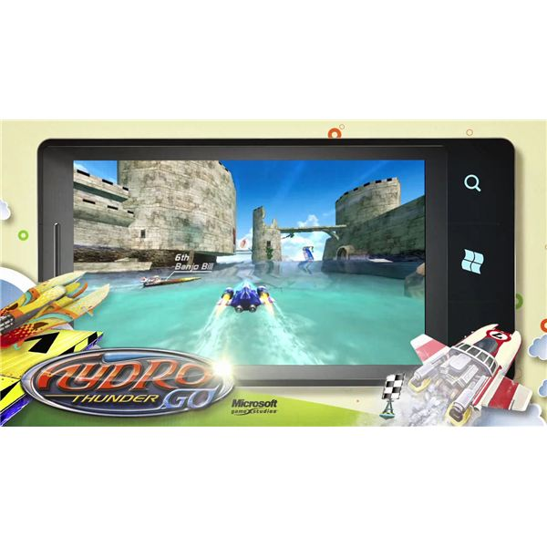 Hydro Thunder Go for Windows Phone 7
