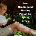 Free Reading and Writing Packet for Spring Break