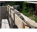 Autoconstruction-maçonnerie linteau