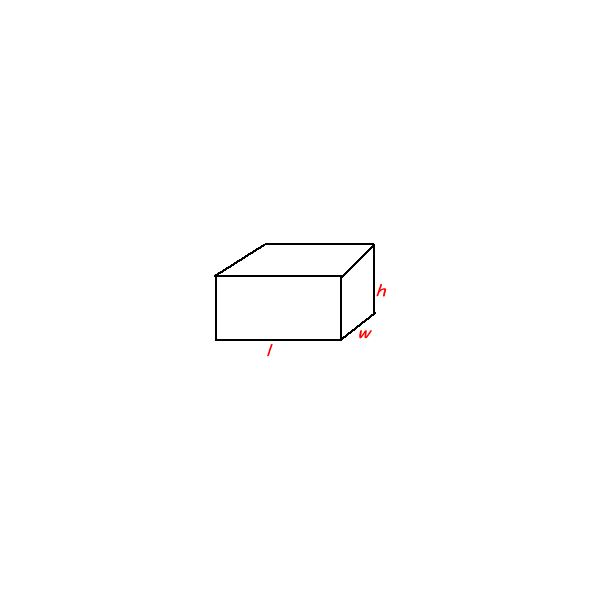 3 dimensional rectangle
