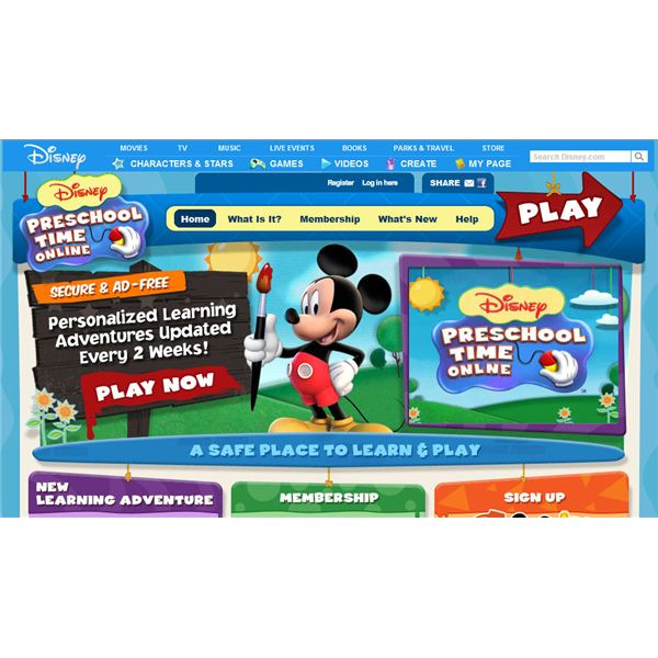 Disney Preschool Time Online