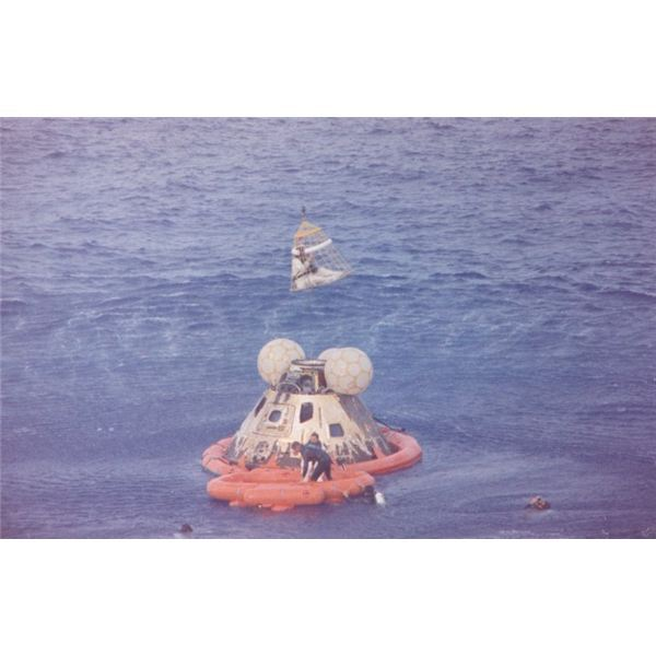 Apollo 13 recovering