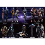 Mass Effect Races