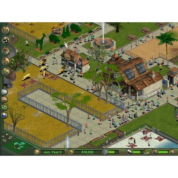 Zoo Tycoon park in the original game