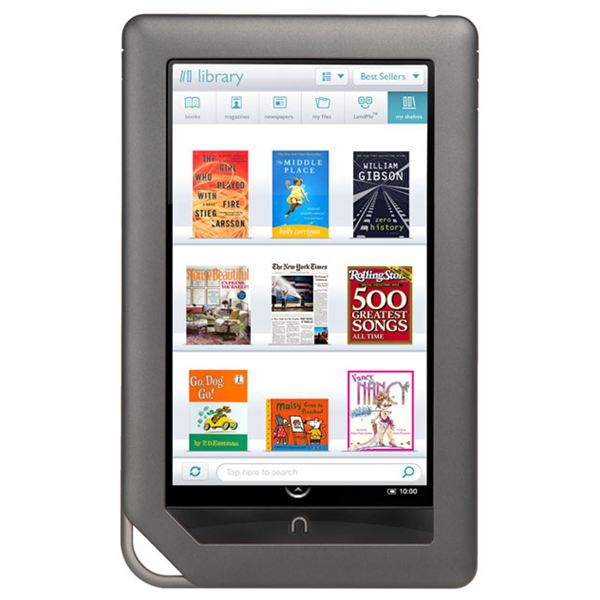Nook color vs. kindle 3