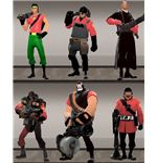 Team Fortress 2 Skins - Dark Knight Pack