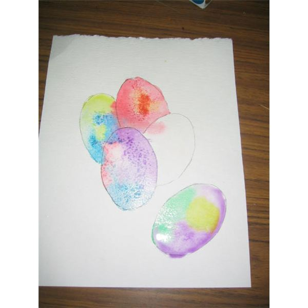 Painting In The Eggs