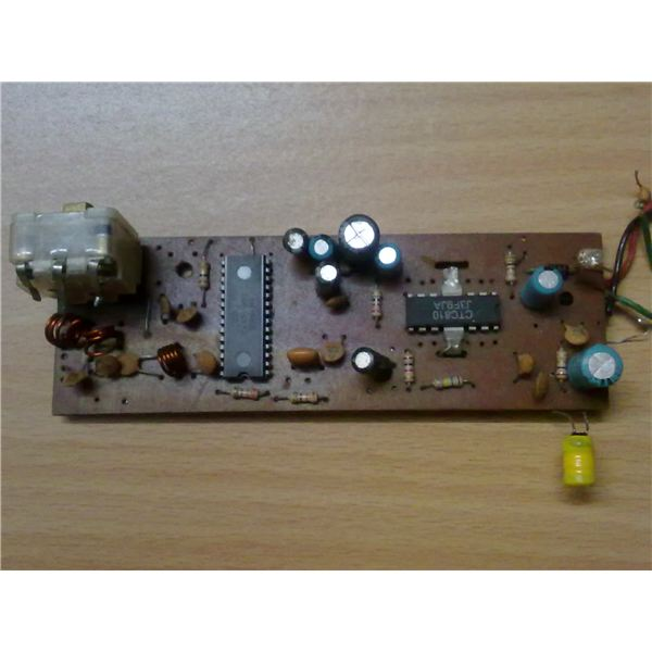 FM Receiver Circuit Board, Image