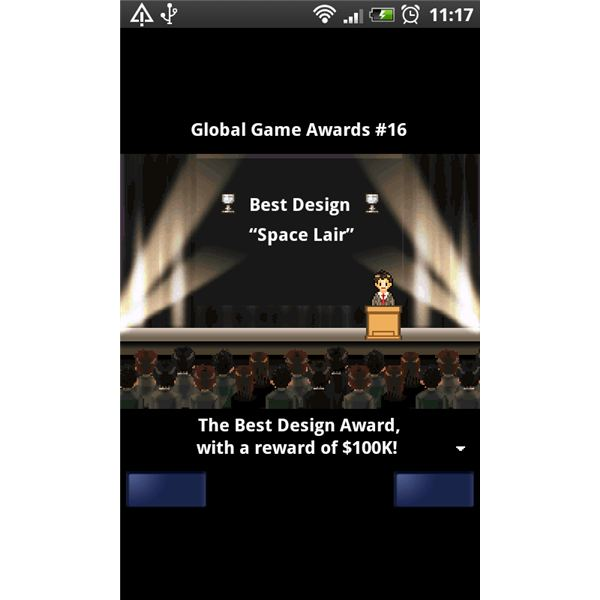 Game Dev Story Android Game Awards