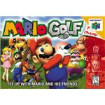 Mario Golf - Original Nintendo 64 Box Art