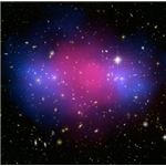 The collision of two galaxy clusters give insight into the mysterious dark matter