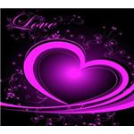 ai-vector-heart-graphics-purple-heart-with-flowers