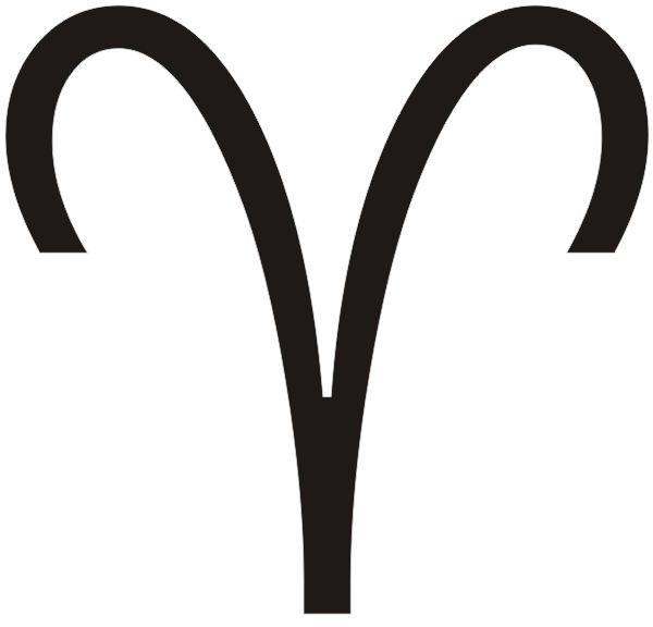 Aries symbol