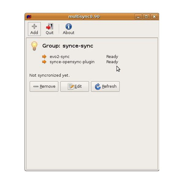 How can I use my Windows Mobile phone on Linux desktop? use SynCE and Multisync!